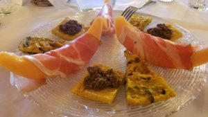 Antipasto at Il Selvatico