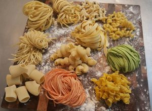 Best pasta noodle shape variety available each week for purchase at the Phoenix Uptown Farmers Market